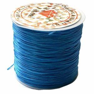 Crystal String blue - Steinschleuder Pouch Anbindeschnur blau