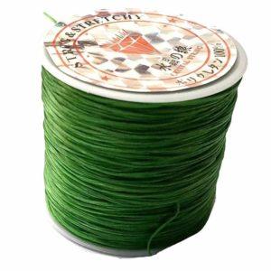 Crystal String green - Steinschleuder Pouch Anbindeschnur grün