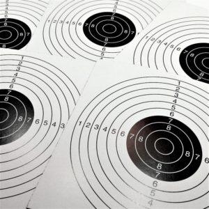 Zielscheiben 14x14 cm