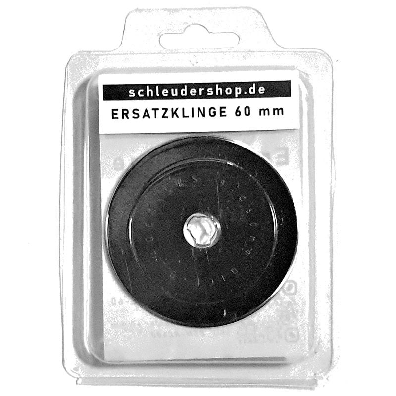 Ersatzklinge Rollschneider 60 mm mit 11 mm Lochdurchmesser