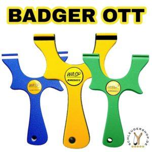 WASP Badger OTT Slingshot Steinschleuder kaufen Zwille Fletsche Sportschleuder günstig