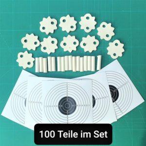 100 Teile Set