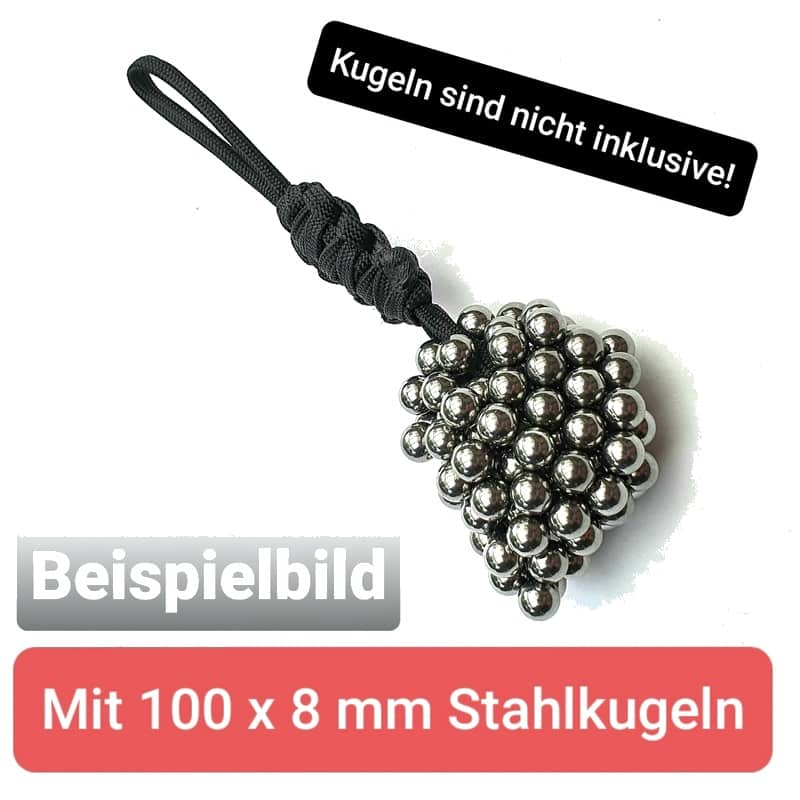 Magnet Kugelhalter mit 100 Kugeln