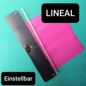 Lineal einstellbar