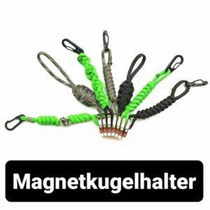 Magnet Kugelhalter Steinschleuder