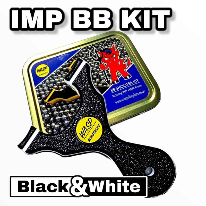 WASP BB IMP Kit black and white schwarz weiß Metalldose BB Kugeln Bandset