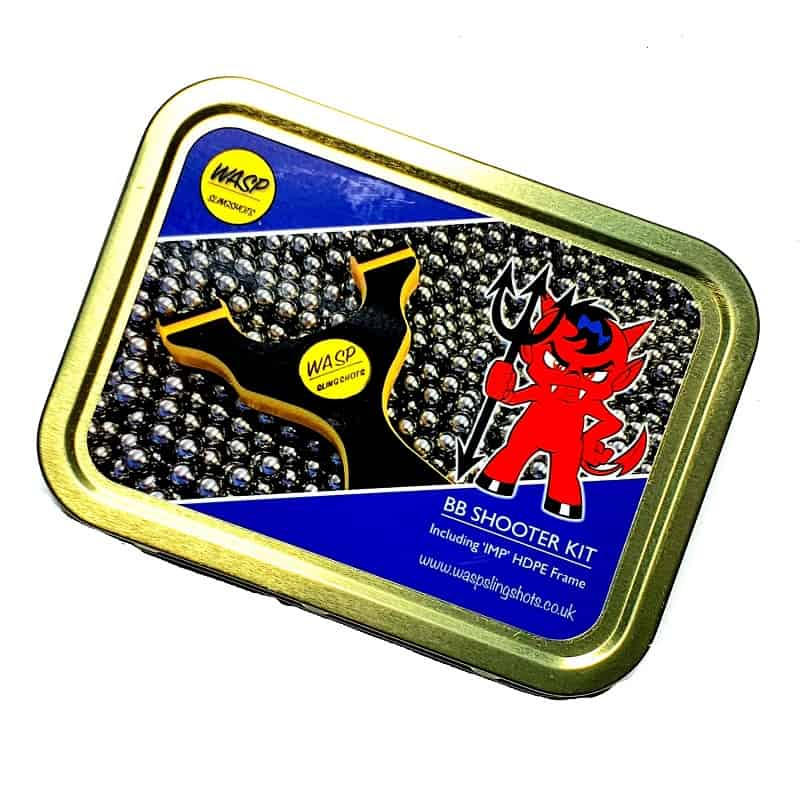 WASP IMP BB Shooting-Kit Box Dose Metalldose Geschenkbox