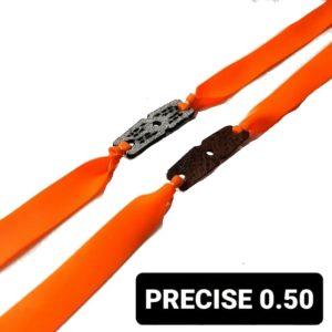 Bandset Precise 0.50 grün Ersatzgummi für Zwille und Steinschleuder