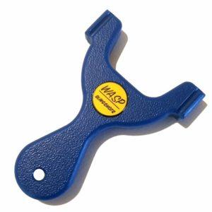 WASP IMP TTF Pocket Frame blue Steinschleuder