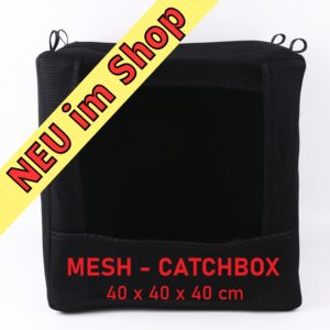 Catchbox 40x40x40 Mesh Black Titelbild