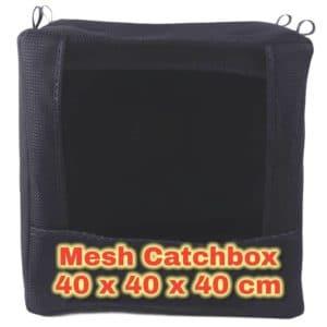 Catchbox 40x40x40 cm aus robustem Mesh Black