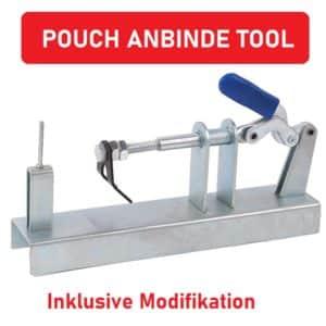 Pouch Anbinde Tool Steinschleuder Band Jig