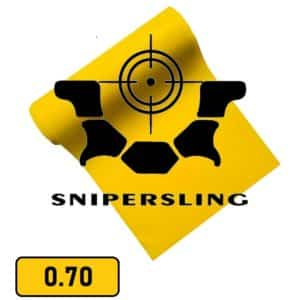Snipersling 0.70 Steinschleuder Latex 2m Rolle