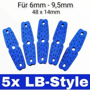 LB-Style Pouches 5er Sparpaket blau
