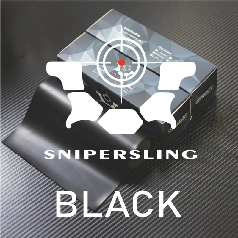 Snipersling Black 2m Steinschleuder Latex