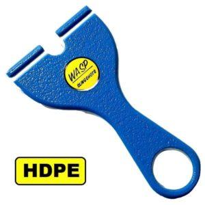 WASP Pocket Phoxx PFS HDPE blue-white Steinschleuder