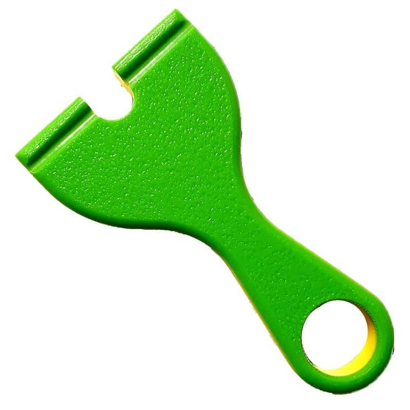 WASP Pocket Phoxx PFS HDPE toxic-yellow Rueckseite