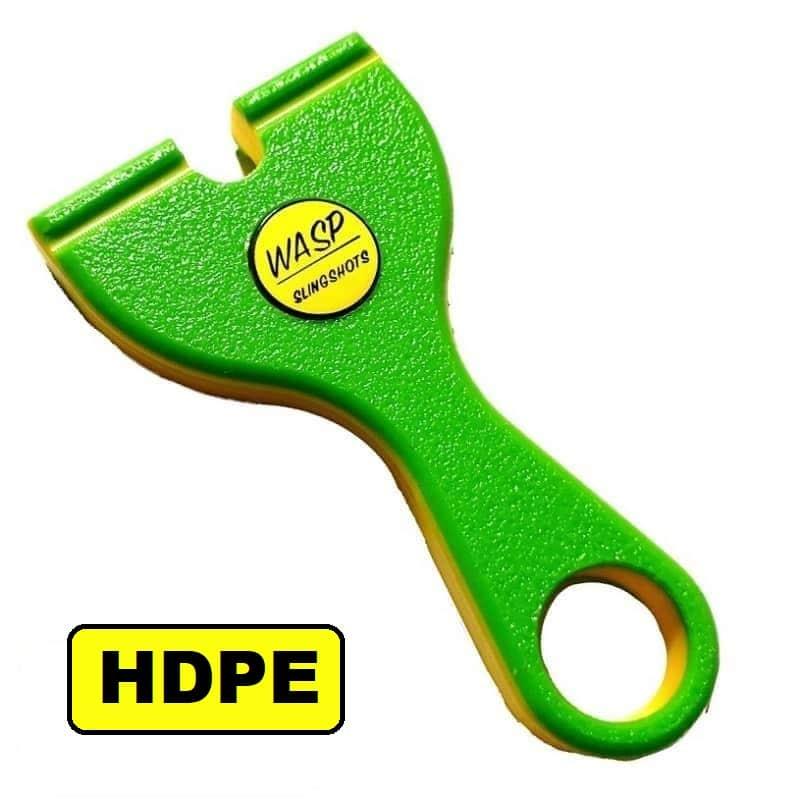 WASP Pocket Phoxx PFS HDPE toxic-yellow Slingshot