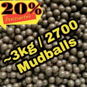 Mudballs Clayballs Schlammkugeln 3kg 2700 Stück günstig kaufen