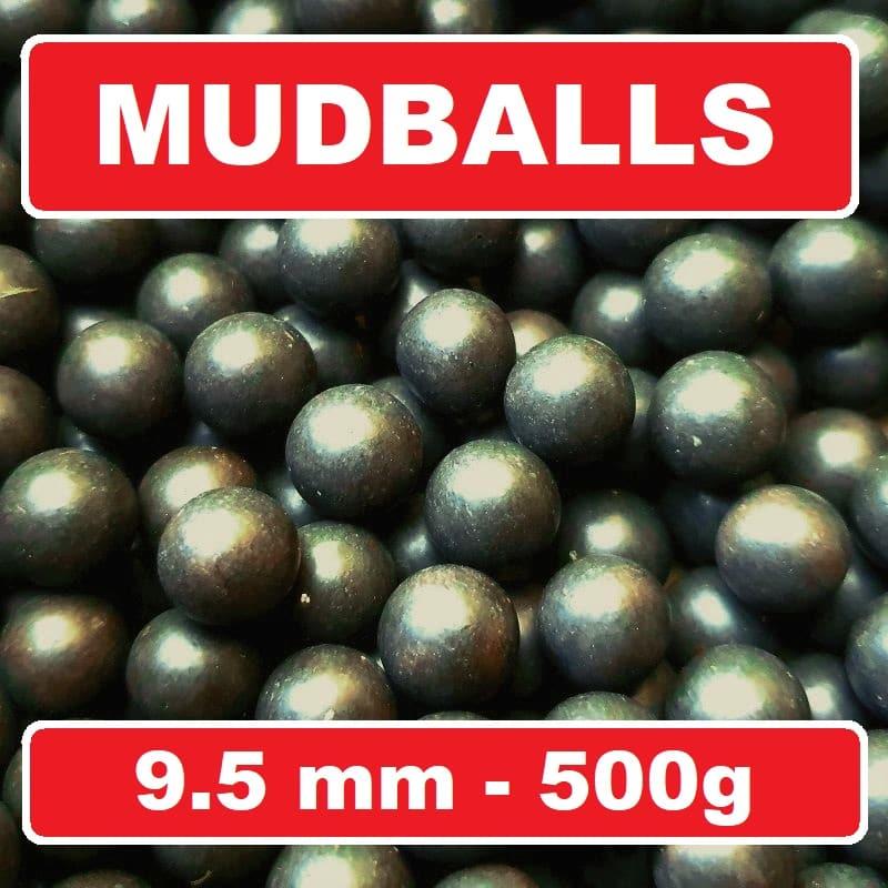 Schleudermunition Mudballs Clayballs Schlammkugeln 500 Gramm