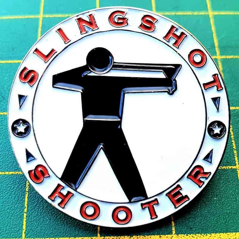Metall Pin 30mm Slingshot Shooter