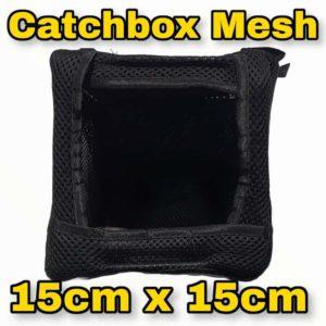 Catchbox Mesh Black 15x15cm Vorderseite