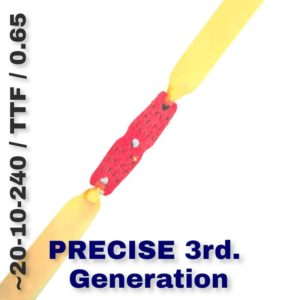 PRECISE 3rd Generation Bandset TTF 0.65 white