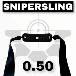Snipersing black 0.50 Schleuder Ersatzgummi