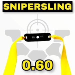 Snipersing yellow 0.60 Zwillen Bandset mit Pouch