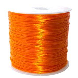 Crystal String Orange - Steinschleuder Pouch Anbindeschnur