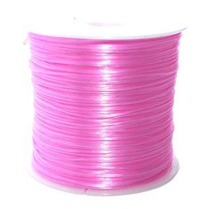 Crystal String Pink - Steinschleuder Pouch Anbindeschnur