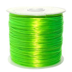Crystal String Toxic Green - Steinschleuder Pouch Anbindeschnur