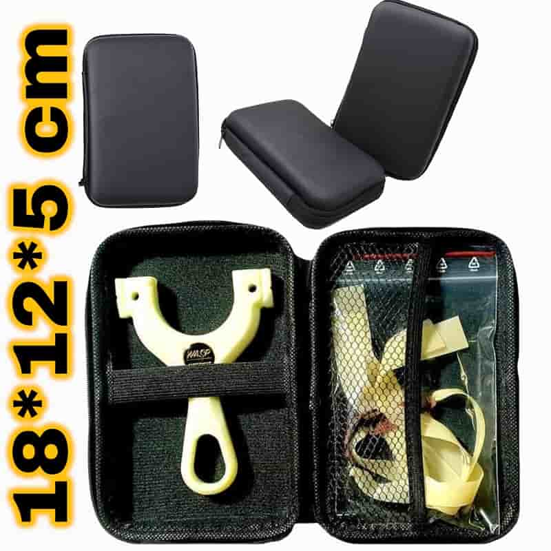 Hardcase Steinschleuder Tasche schwarz Schutztasche-min