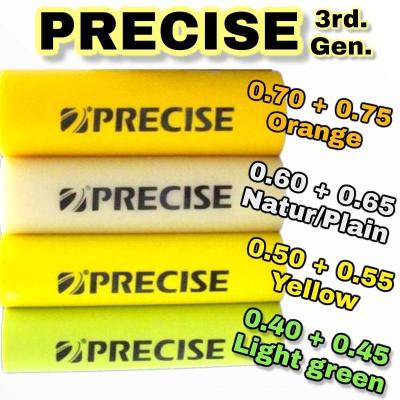 PRECISE 3rd Generation Steinschleuder Gummi 2m Rolle