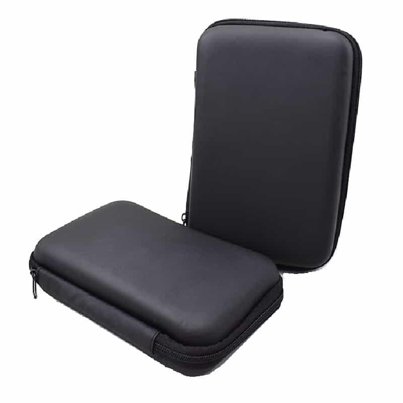 Slingshot Hardcase Zwillen Schutz Tasche schwarz Übersicht