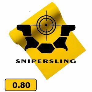 Snipersling Slingshot Latex 2m 0.80 Ersatzgummi selber machen