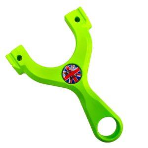 UniPhoxx Mini Toxic-Lime Steinschleuder WASP Slingshots