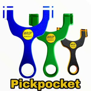 WASP PickPocket HDPE Slingshot Steinschleuder Zwille Fletsche kaufen