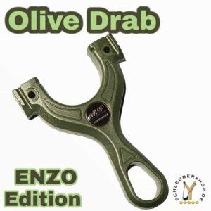 WASP UniPhoxx ENZO EDITION Olive drab Steijnschleuder Slingshot Sportschleuder